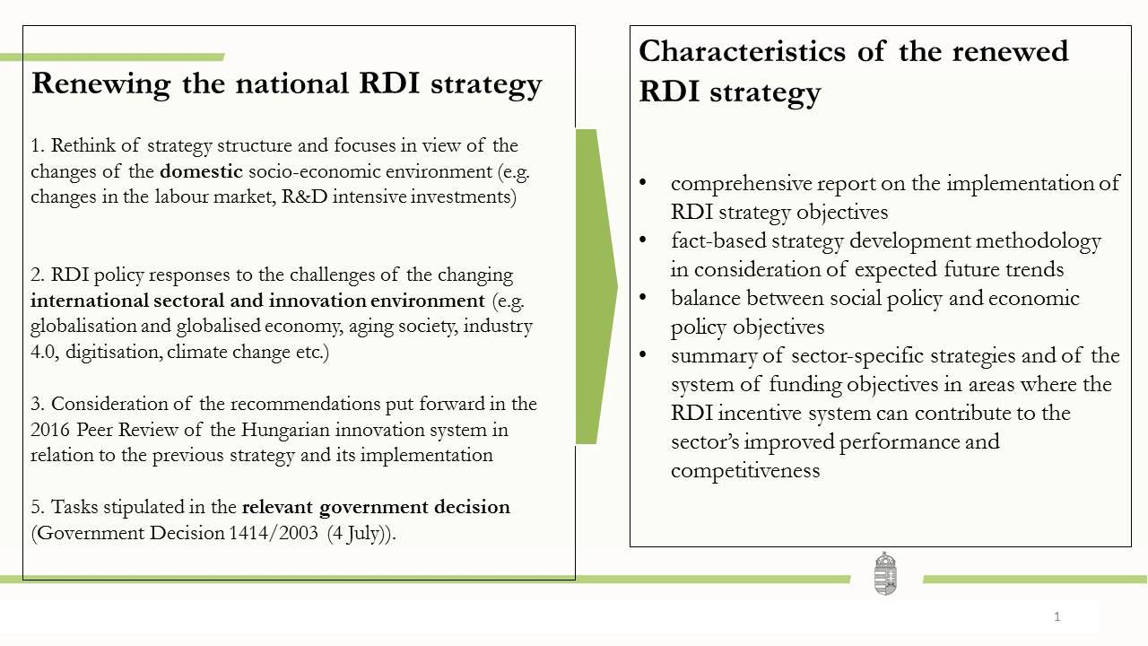 strategic objective summary
