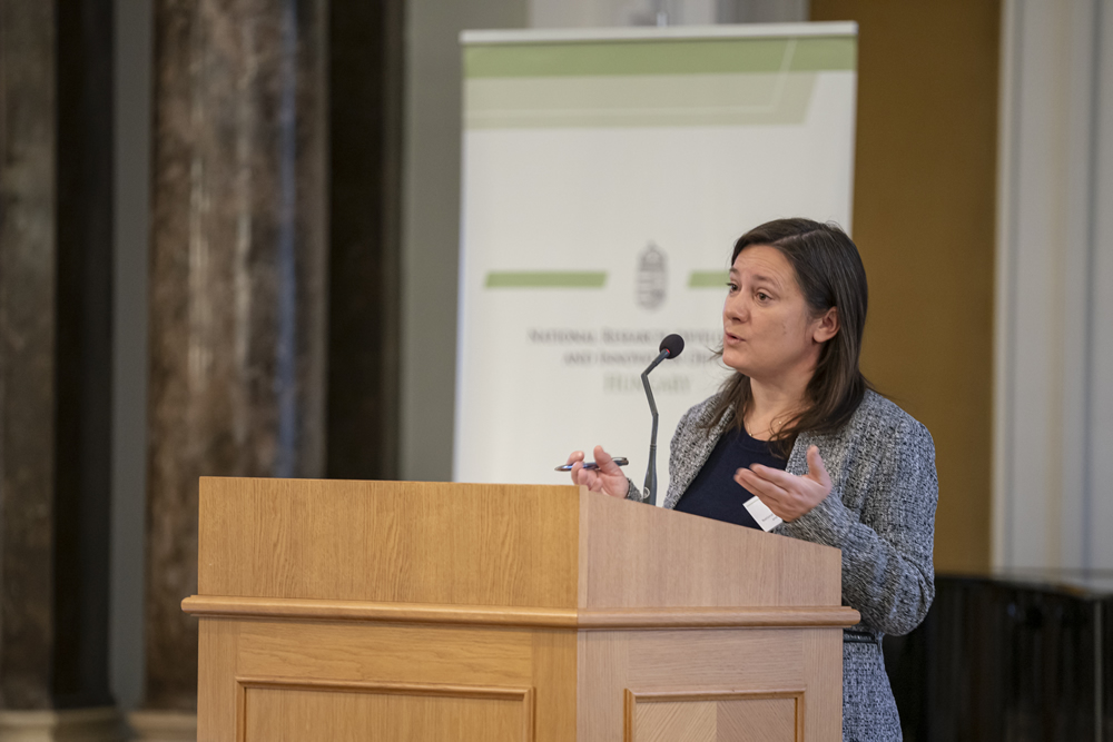 Szonja Csuzdi, Head of Department of International Affairs, National Research, Development and Innovation Office