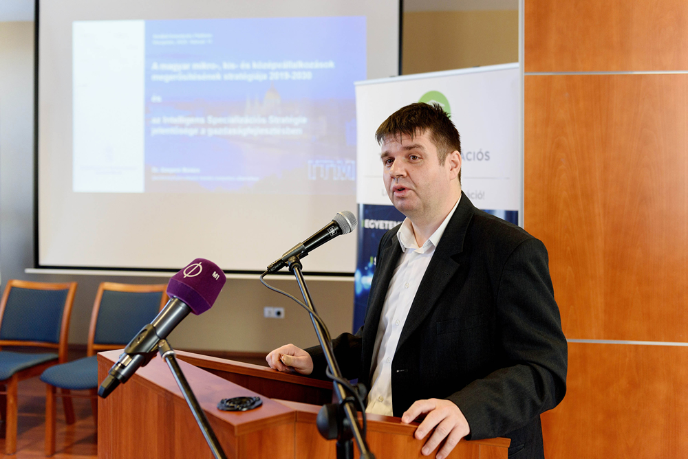 Balázs Szepesi, Deputy State Secretary for Economic Development at the Ministry of Innovation and Technology